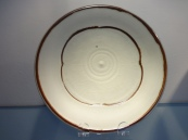 Bob (Robert) Bozak - porcelain plate - set of 3 detail