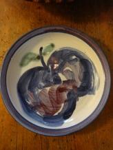 Annette Zakuta - porcelain plate