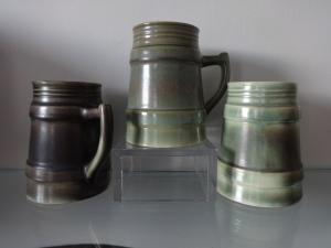 Lotte Bostlund - porcelain stoneware tankards; commission for Danfoss  $65.00 ea