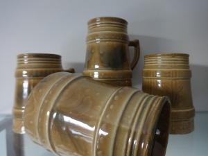 Lotte Bostlund - porcelain stoneware tankards   $65.00 each