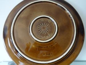 Neils Gravsen - Sunburst Ceramic, dinner plate - detail